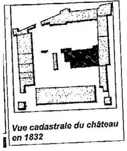 Schloss Vannes Grundriss klein