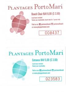 Tickets PortoMarie