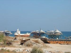 Rhodos Hafen Schrott1