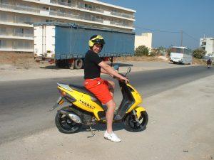 Rhodos Moped Thomas