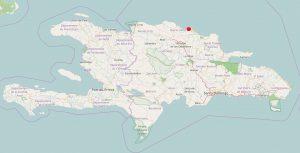 Karte DomRep Sosua