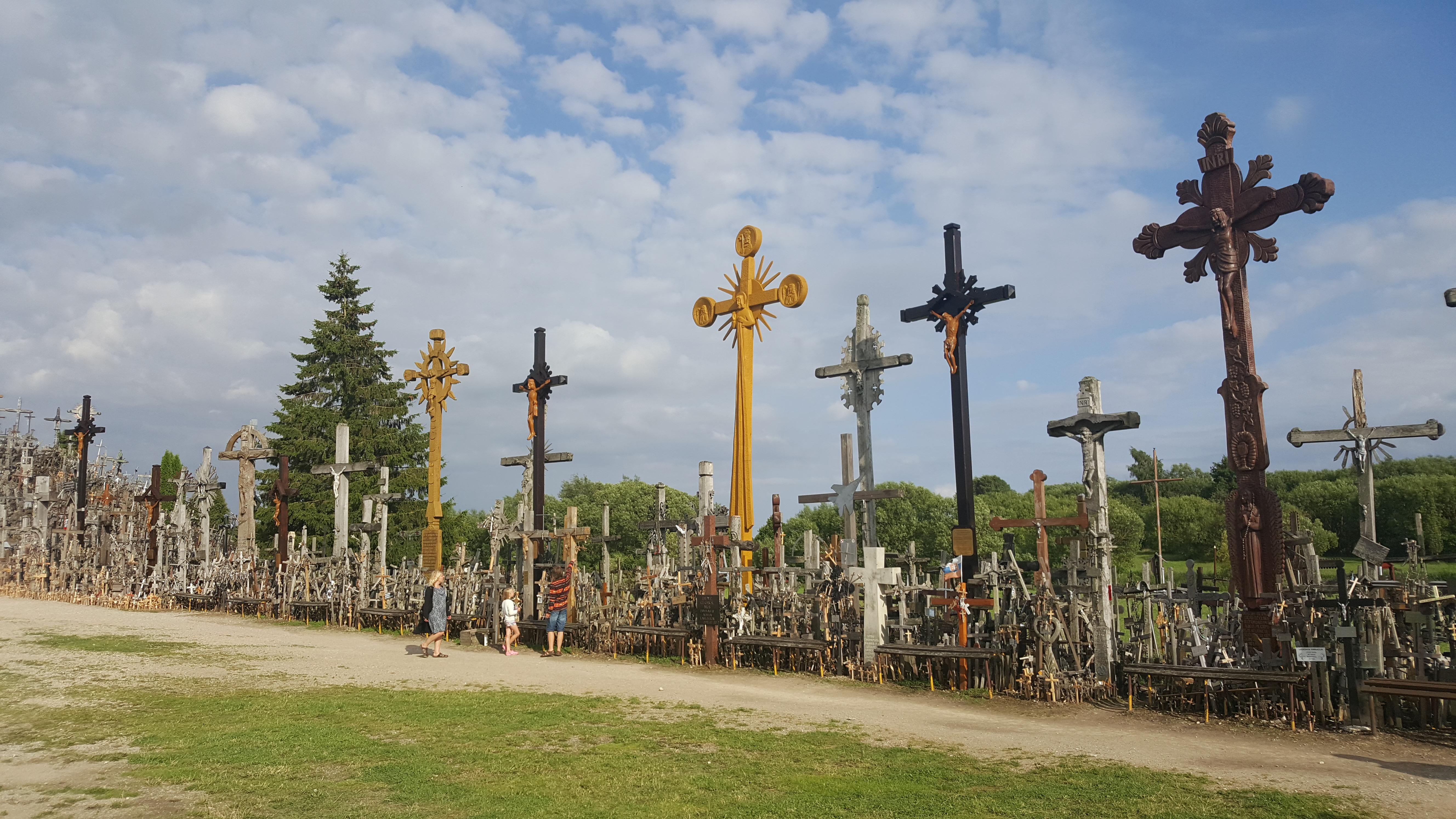 Hügel der Kreuze bei Siauliai