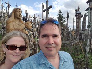 Selfie - Hügel der Kreuze