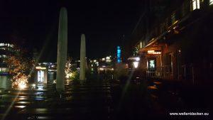 Hafen Münster nachts - Hot Jazz Club
