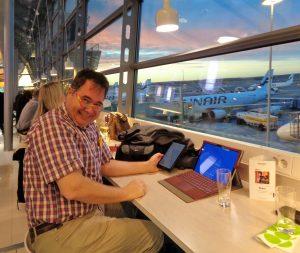Thomas Business Finnair Lounge
