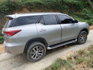 Mietwagen Toyota Fortuner von Budget via Drive FTI