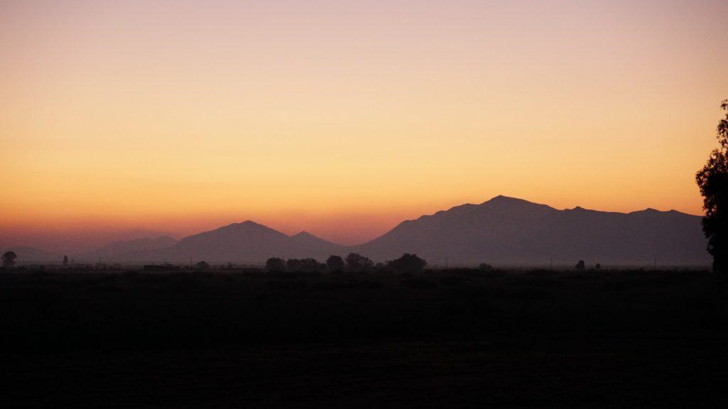 Sonnenaufgang Atlas Marrakesch