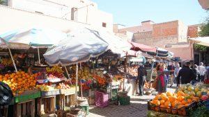 Marktszene in Marrakesch