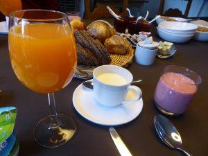 Frühstück Huyze Weyne
