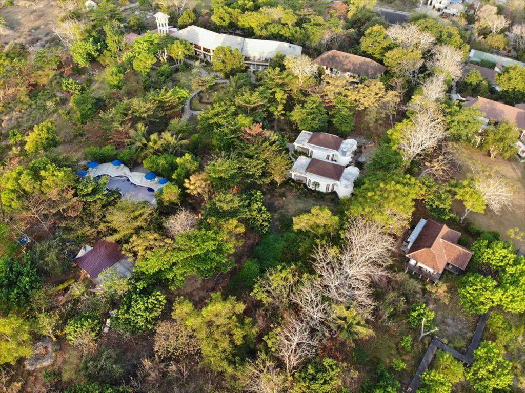 Luftbild Bajo Komodo Eco Lodge