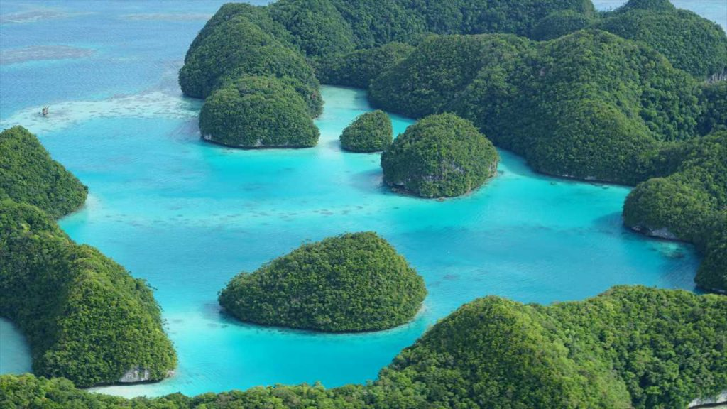Rundflug Palau 70 Islands