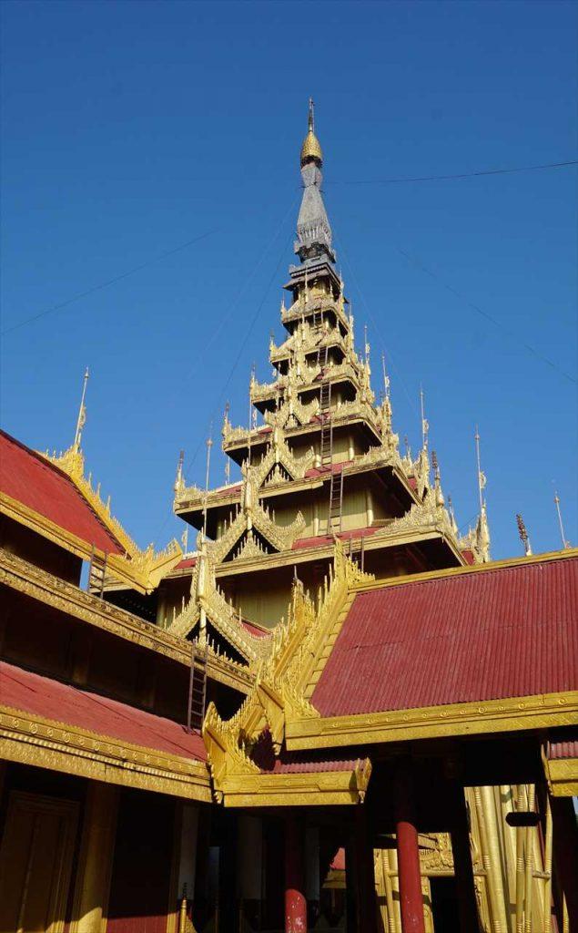 Golden Temple Mandalay