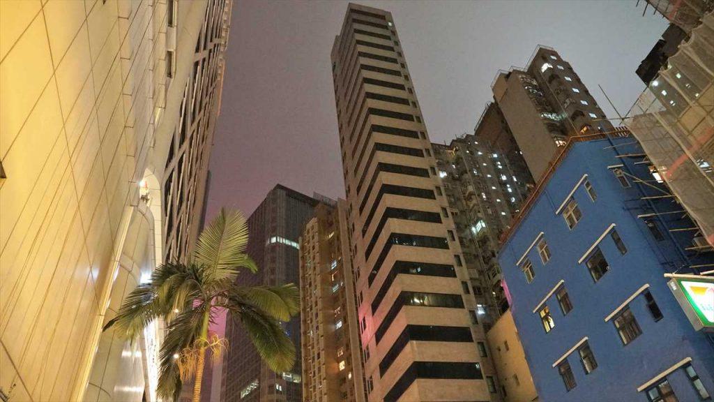 Nacht in Hongkong