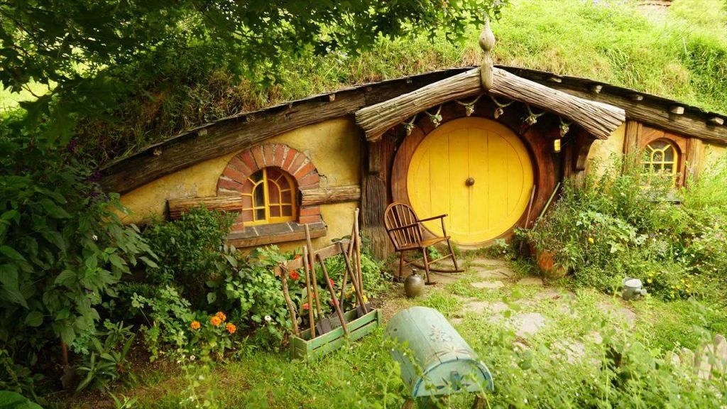 Hobbit Filmset