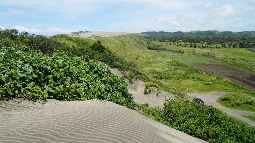 Sanddünen Coral Coast