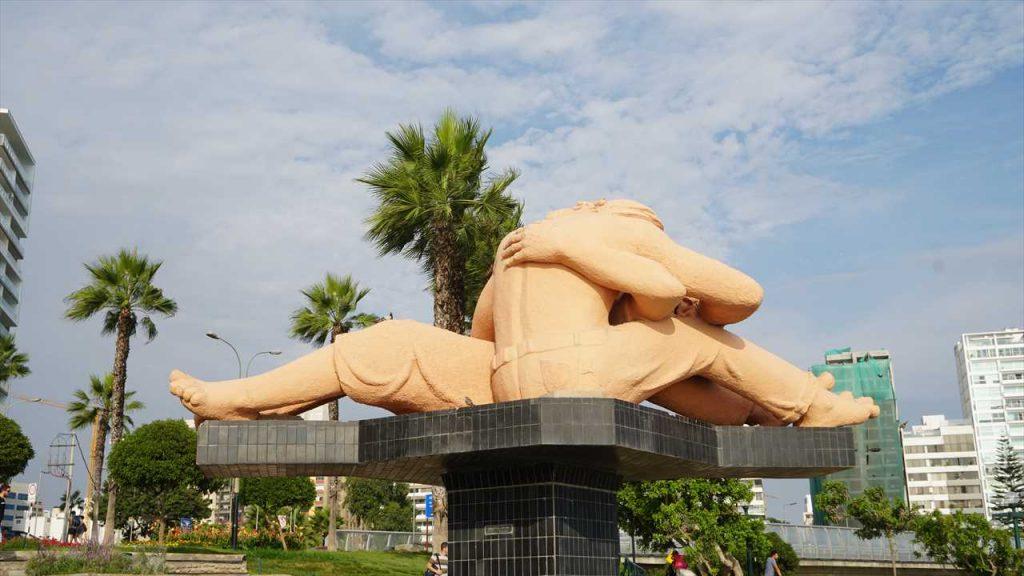 Miraflores Skulptur der Liebenden
