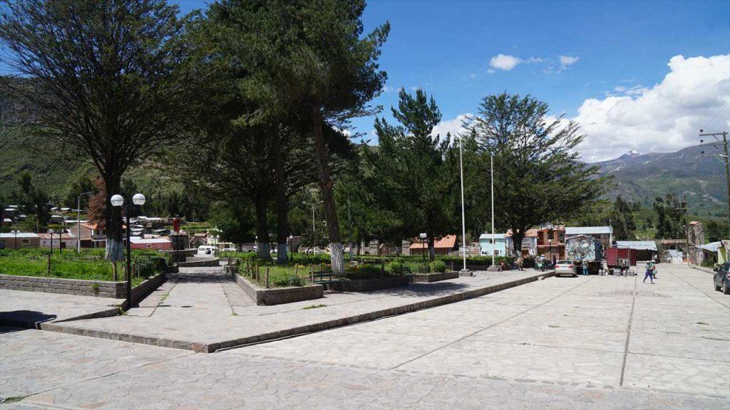 Coporaque Plaza