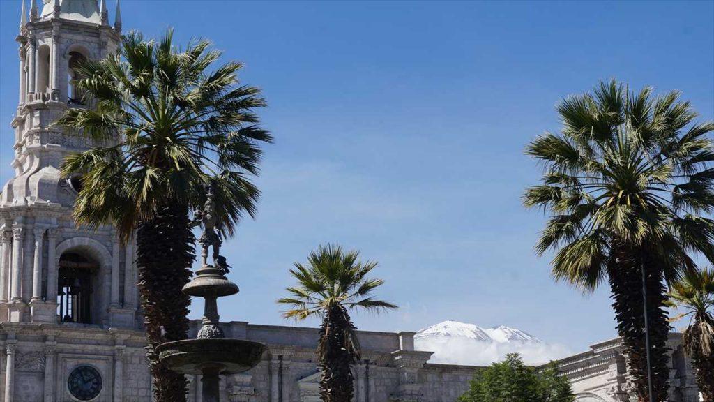 Arequipa mit Vulkan
