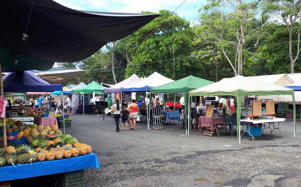 Markt in Jaco