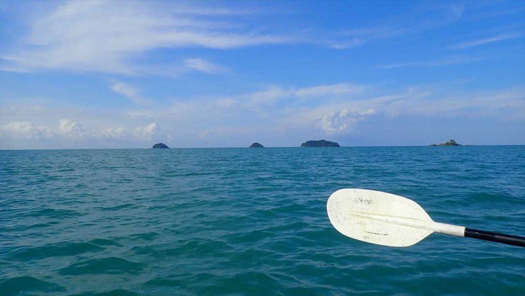 Kayak nach Ko Rom