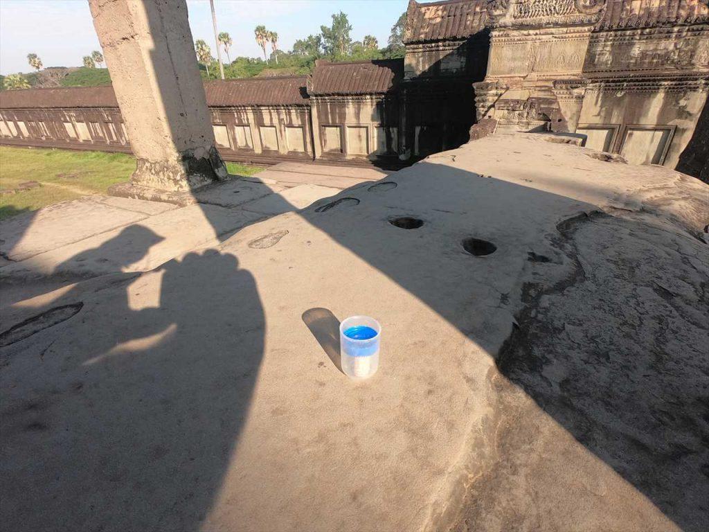 Geocaching Angkor Wat