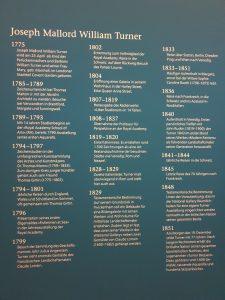 Turner Ausstellung