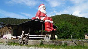 Rennsteig Weihnachtsbahnhof Sitzendorf