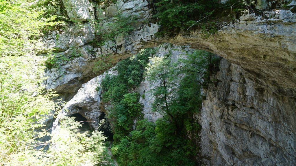 Slowenien natural bridge